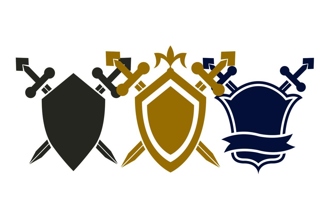 3 shields